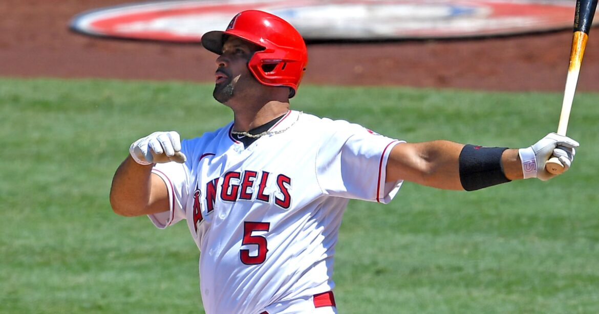 Albert Pujols says he hasn't decided if he'll retire at end of season