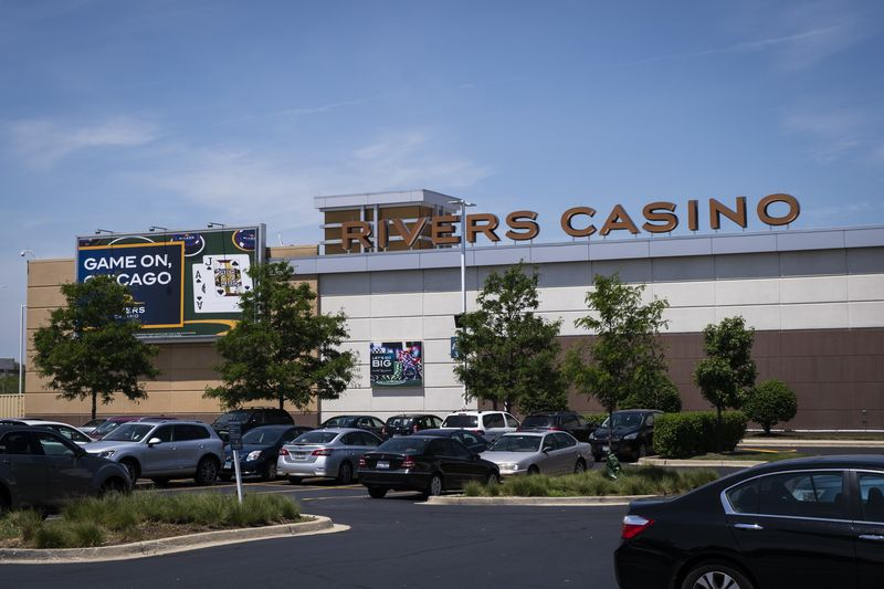 Rivers Casino in Des Plaines, pictured last July.