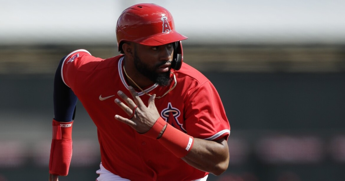 Angels' Jo Adell believes putting pep in his step can result in pop in his bat