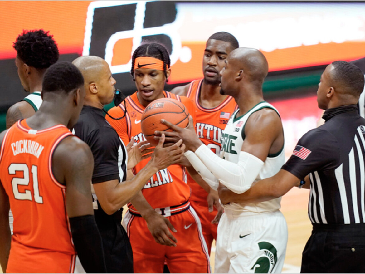 Illinois goes cold in loss to Michigan State