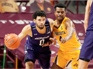 Northwestern rallies past Minnesota to end  13-game losing streak