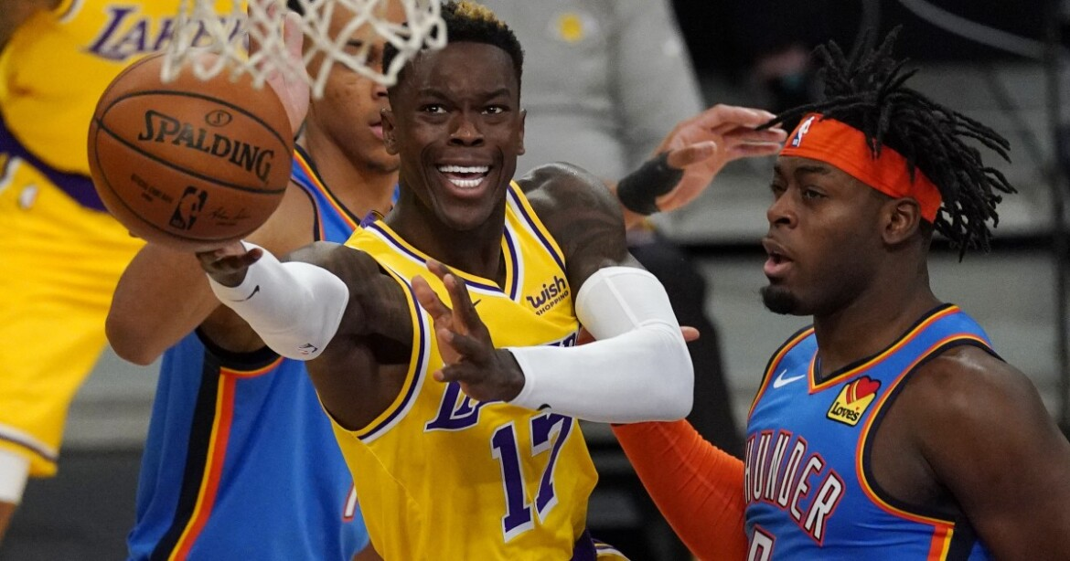 Lakers guard Dennis Schroder to miss game against Nets