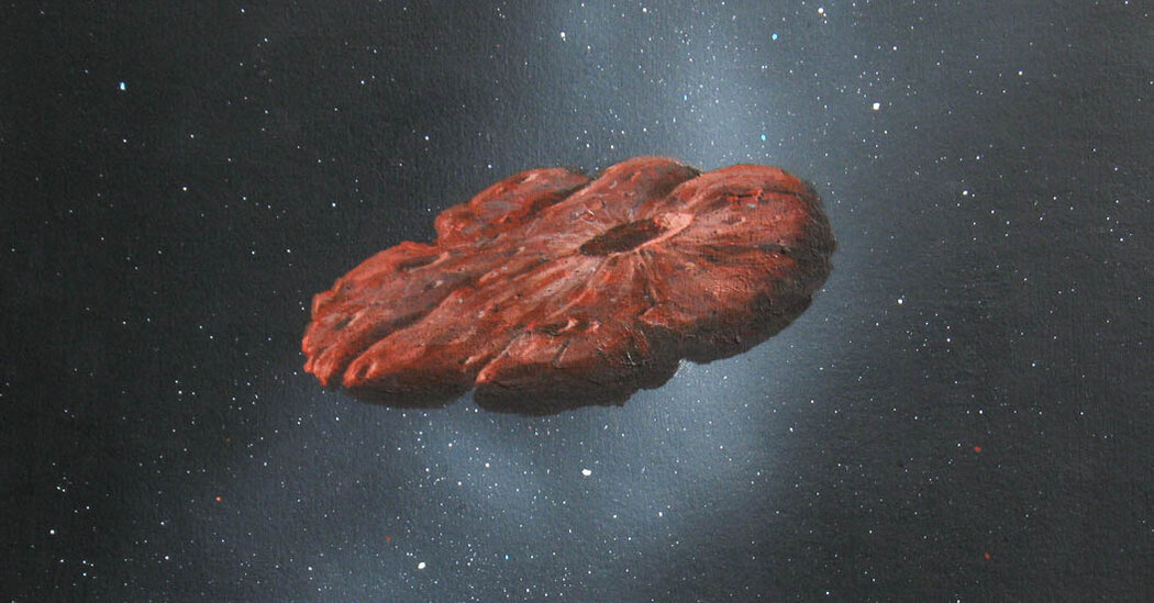 Oumuamua: It Came From Another Solar System