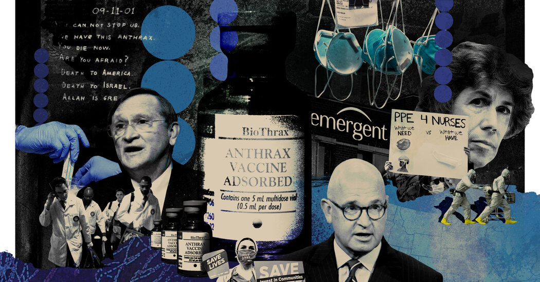 How Emergent BioSolutions Put an 'Extraordinary Burden' on the U.S.'s Troubled Stockpile