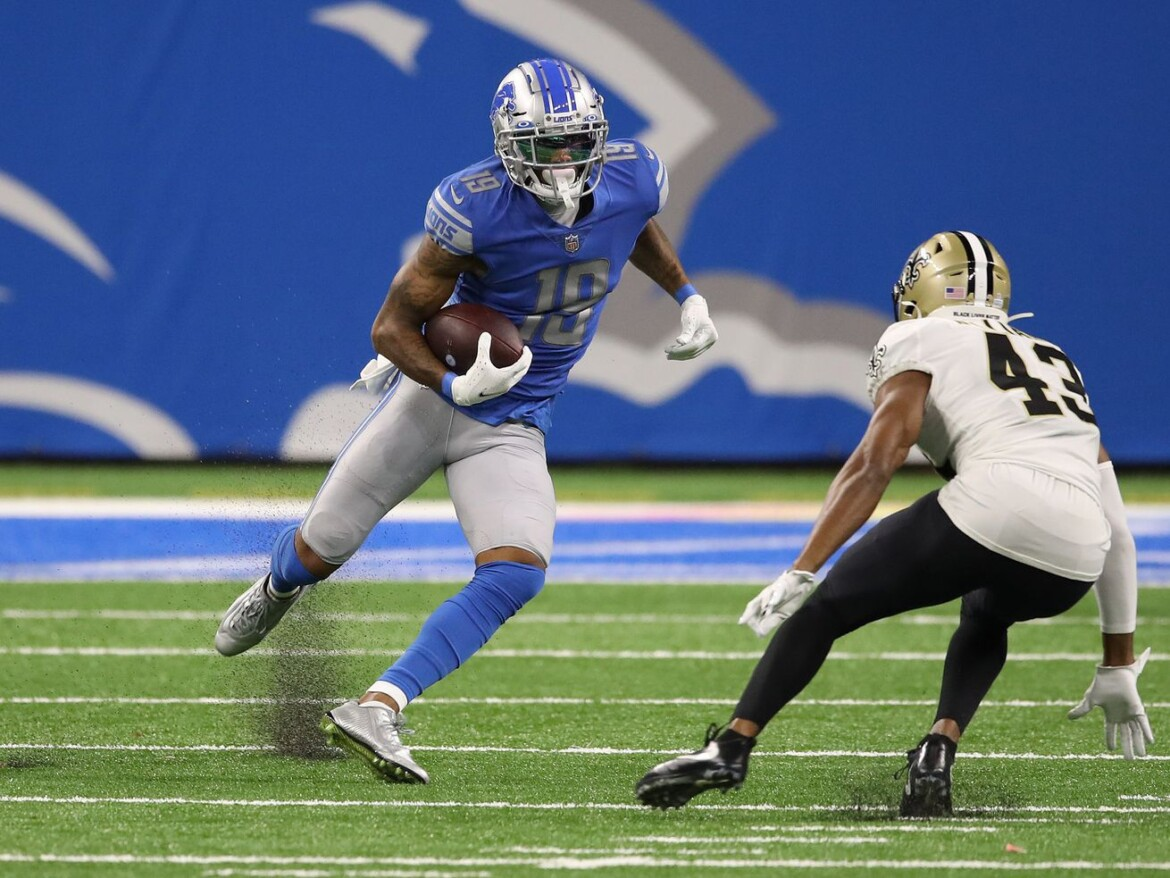 Bears met with WR Kenny Golladay: report