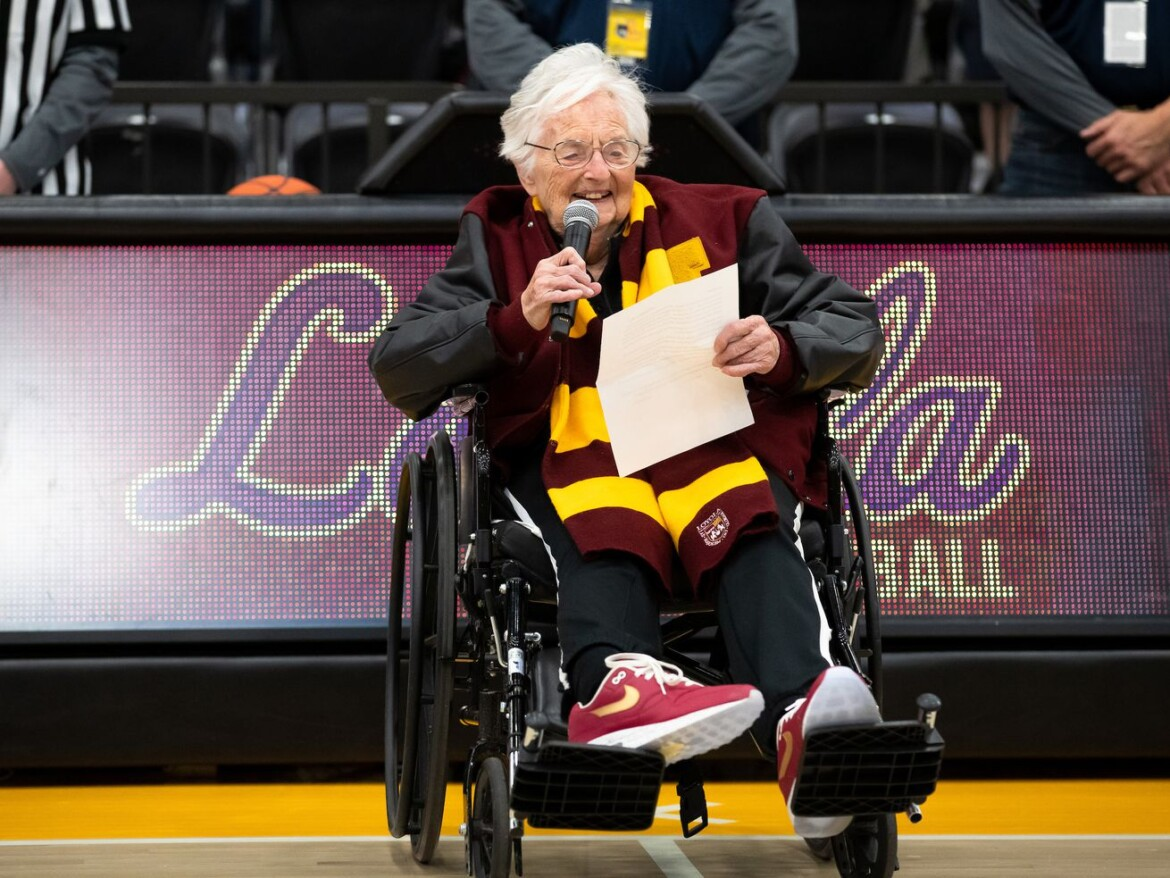 Sister Jean hopes Loyola will make a comeback 'to the very top' of NCAA Tournament