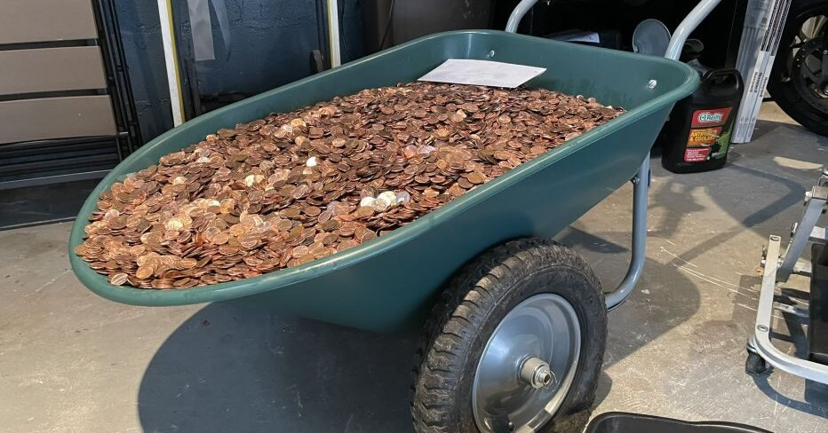 A Man Demanded His Final Paycheck. The Auto Shop Delivered 91,500 Greasy Pennies.