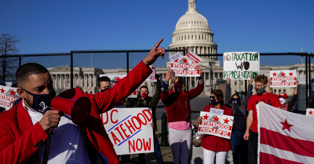 D.C. Statehood Backers Want to Be Part of Broad Voting Rights Measure in the Senate