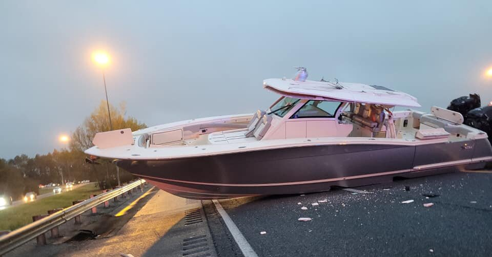 A Boat Snarled Traffic. No, Not That Boat.