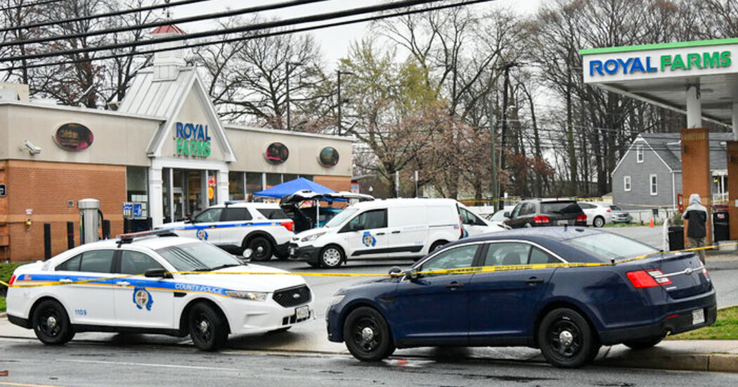 5 Dead, Including Gunman, in Maryland Shooting Spree, Police Say