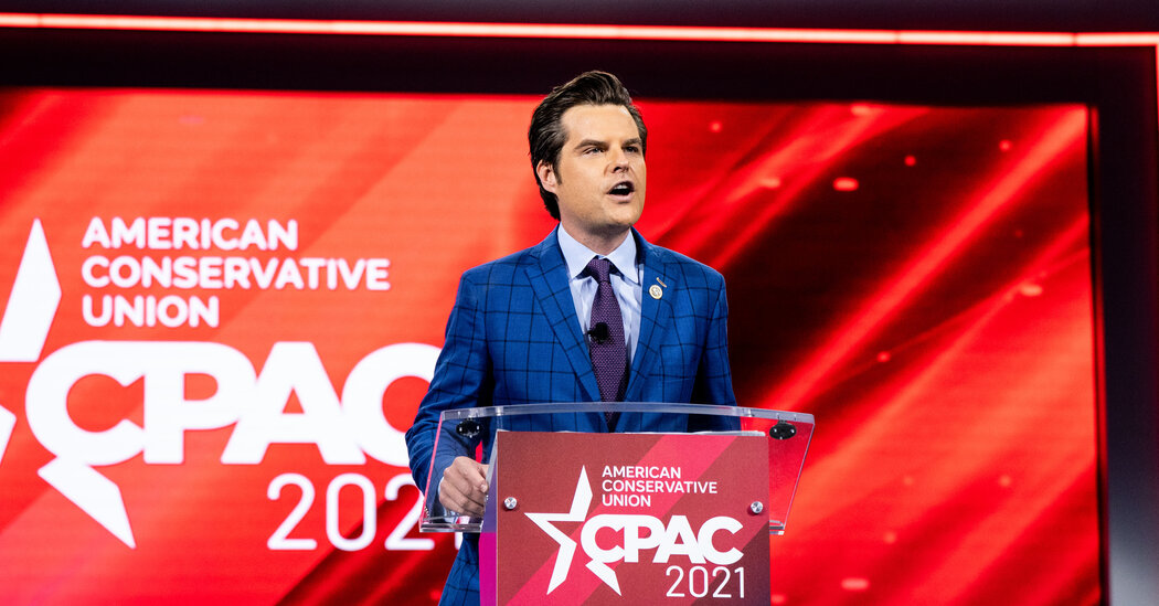 Matt Gaetz Is Said to Be Investigated Over Possible Sexual Relationship With a Girl, 17