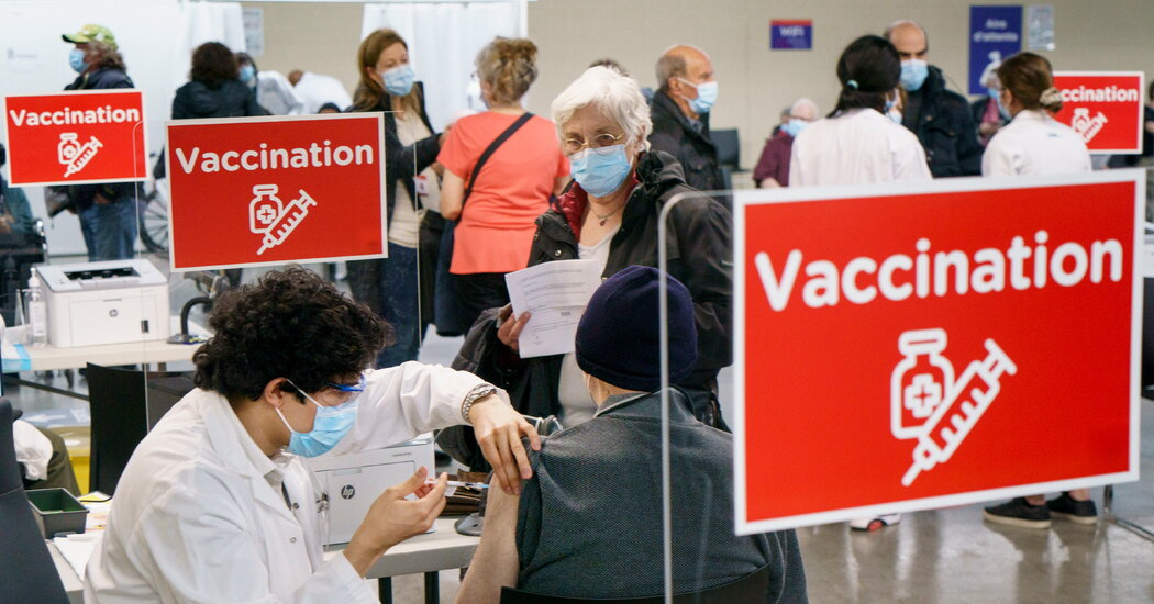 Canada approves the Johnson & Johnson vaccine, giving it a fourth option.
