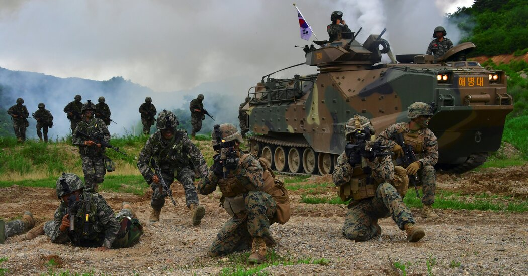 South Korea Will Pay More for U.S. Troop Presence