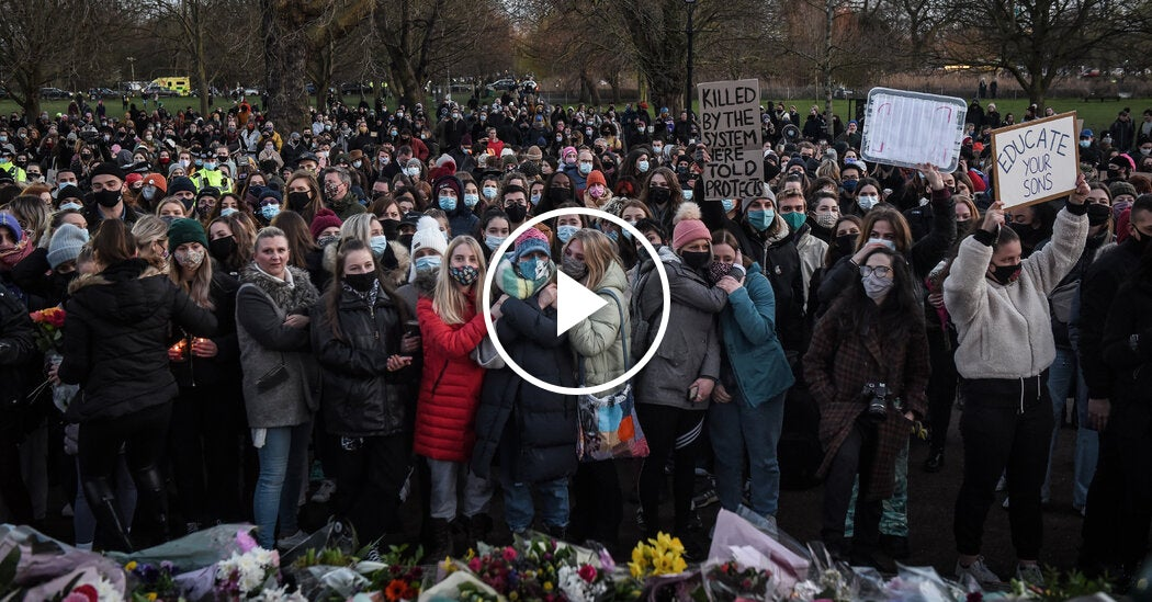 Mourners Voice Anger After London Police Break Up a Vigil