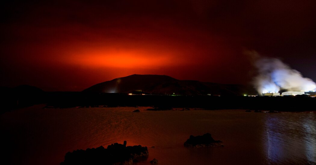 Iceland Volcano Erupts After Weeks of Earthquakes