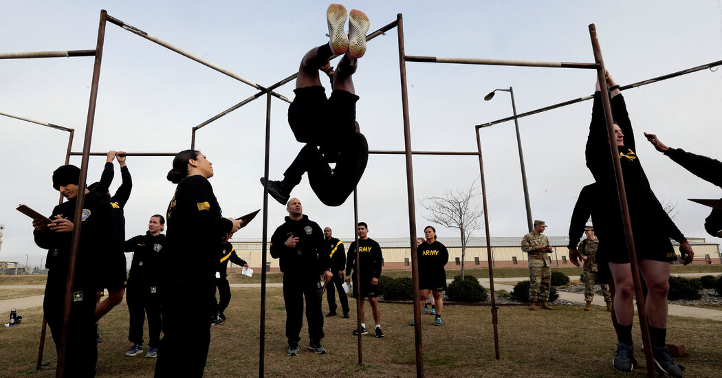 The Army Adjusts Fitness Test After Criticism From Female Troops
