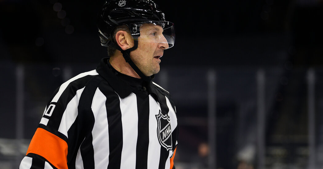 N.H.L. Fires Referee for Comment on Penalty Call