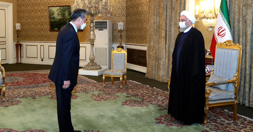 China, With $400 Billion Iran Deal, Could Deepen Influence in Mideast