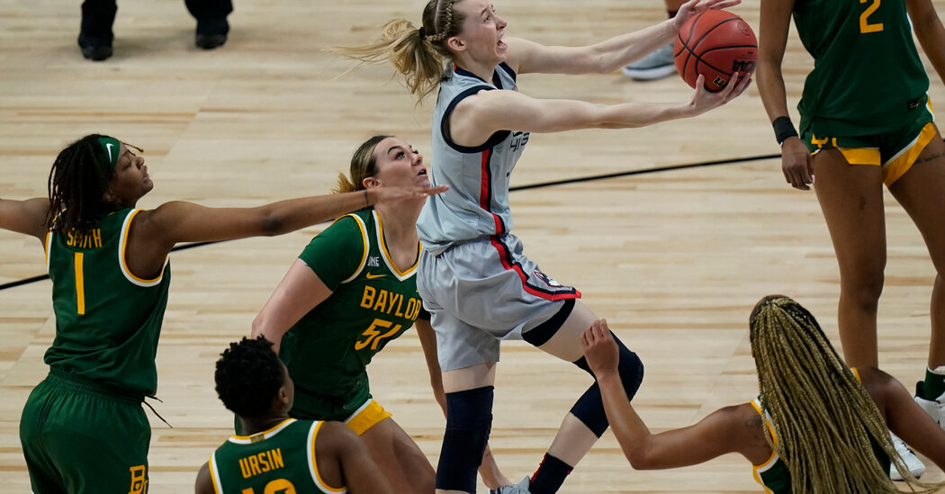UConn Reaches Final Four With Tight Win Over Baylor