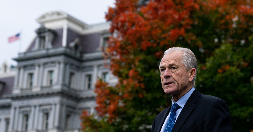 Trump Aide Peter Navarro Doled Out Millions in Pandemic Contracts, Inquiry Finds