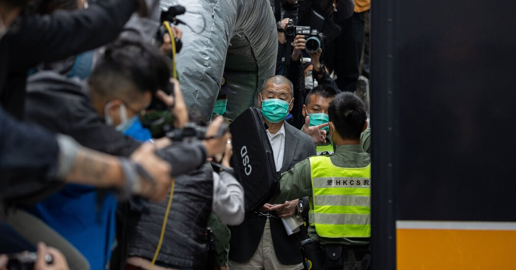 Hong Kong Convicts Martin Lee and Other Democracy Leaders Over Protest
