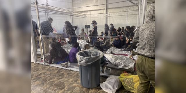 Biden admin not testing children in packed border facilities where migrants can't social distance