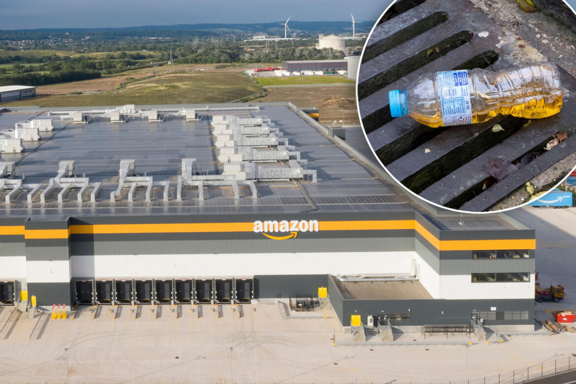 Amazon slammed for denying workers were forced to pee in bottles