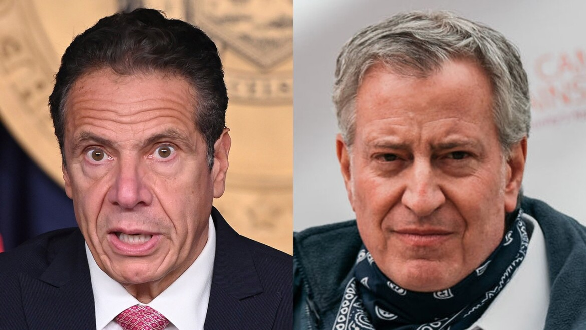 Cuomo harassment allegations 'sickened me,' de Blasio says