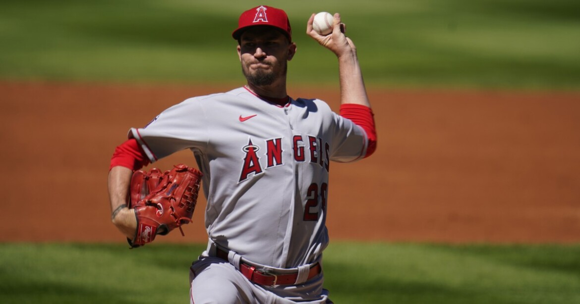 Andrew Heaney makes spring training debut in Angels' loss to Reds