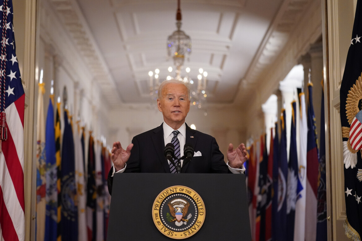 Biden in First Primetime Speech Promises Vaccine Eligibility for All by May 1