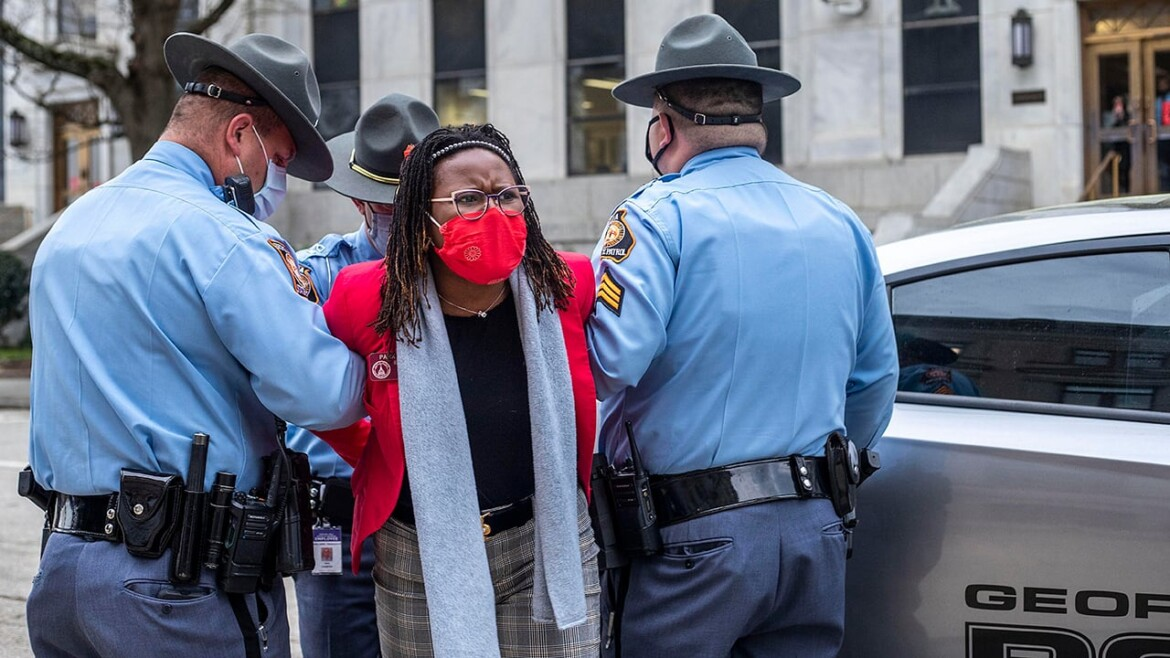 Who is Park Cannon? Georgia state Democrat was arrested at statehouse