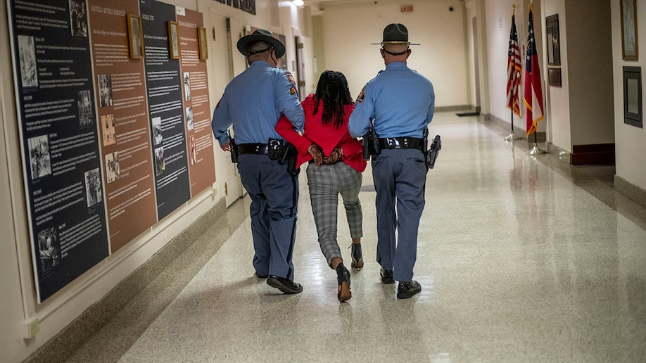 Rep. Park Cannon returns to Georgia state Capitol following arrest