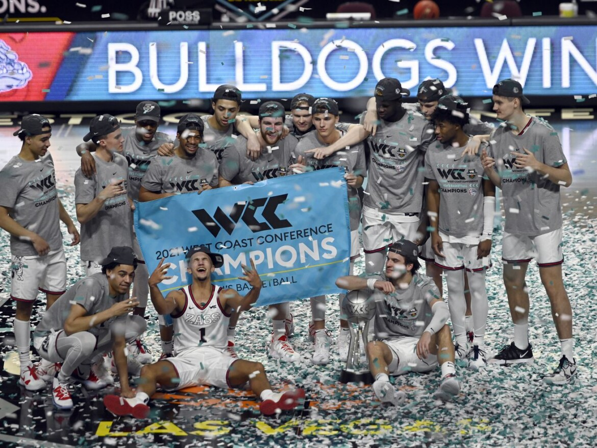 Gonzaga — the best team from Day 1 — is the last team standing in my bracket