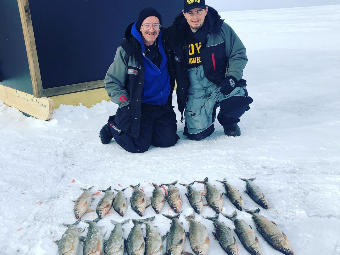 Fishing and bloodlines: Jakiels share passed-on passion and earn Fish of the Week on whitefish outing