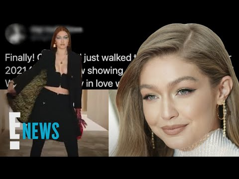Gigi Hadid Returns to the Runway With New Red Hair | E! News