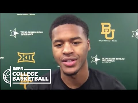 Jared Butler on Baylor's Big 12 season title | Countdown to College Basketball GameDay