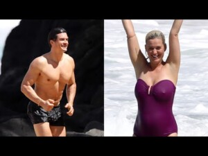 Katy Perry & Orlando Bloom's Family Beach Day in Hawaii