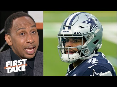Stephen A. expects Dak Prescott to get franchise tagged again by the Cowboys | First Take