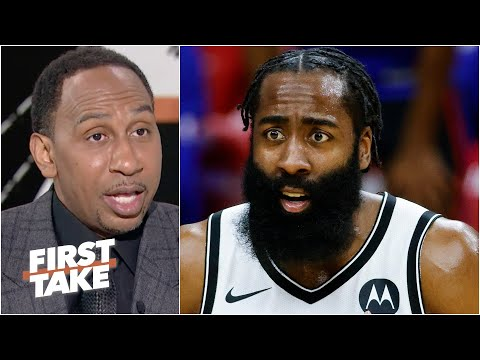Stephen A. disagrees with James Harden's response to Antoine Walker | First Take