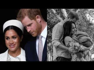 Meghan Markle & Prince Harry Share New Family Photo