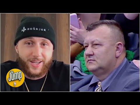 Jusuf Nurkic confirms the legend about his dad, says little brother will be a top-5 pick | The Jump