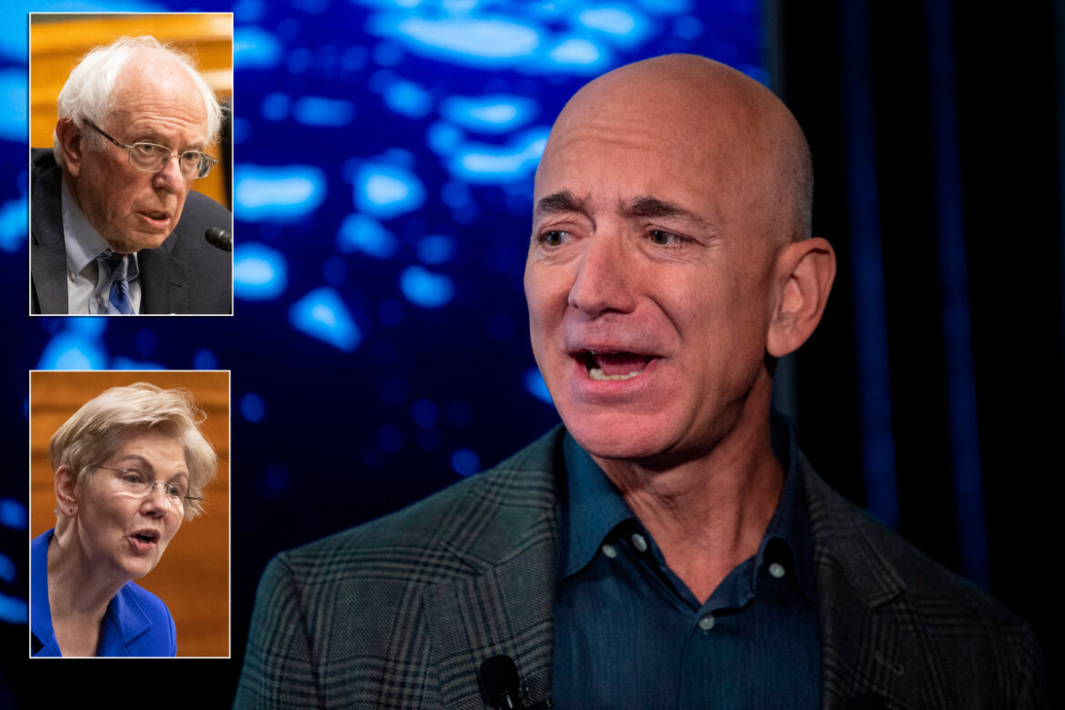Amazon's Twitter war with Democrats incited by fuming Jeff Bezos: report