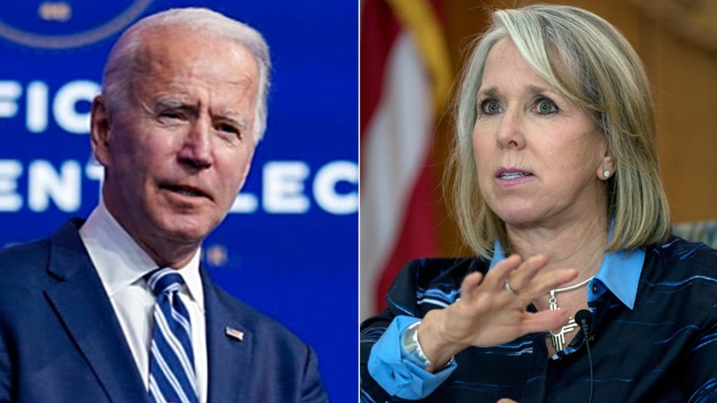 Dem New Mexico Gov. Grisham concerned with Biden's energy agenda: 'Doesn't make any sense'