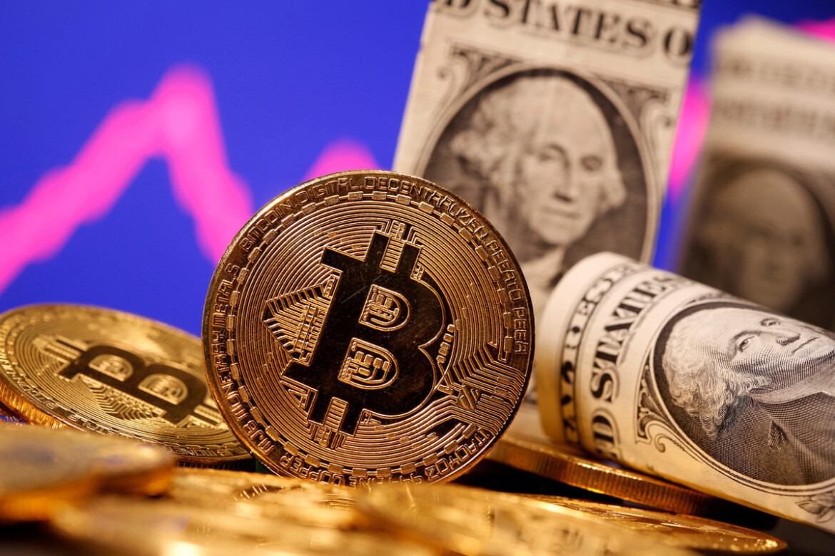 Bitcoin market value tops $1 trillion again as price tops $54,000