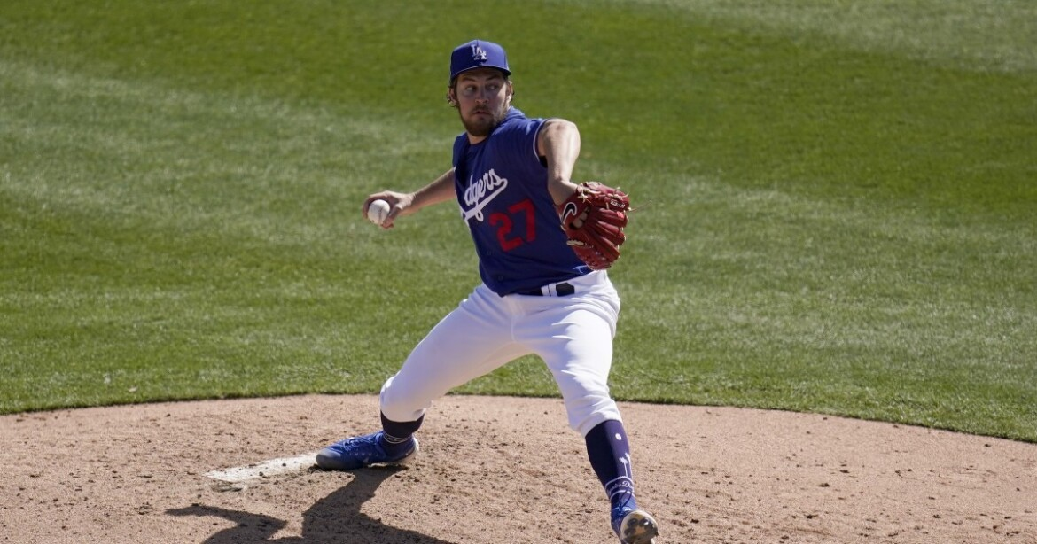 Trevor Bauer starts strong before hitting roadblock in Dodgers' loss