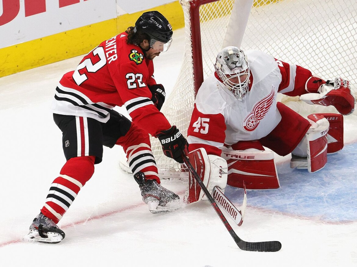Blackhawks' Ryan Carpenter growing into more offensive role, including on power play