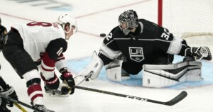 Kings can't overcome second-period surge by Arizona Coyotes in loss