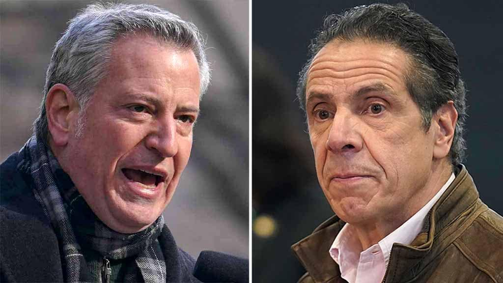 De Blasio: NY Gov. Cuomo 'in the way of us saving lives' by refusing to resign