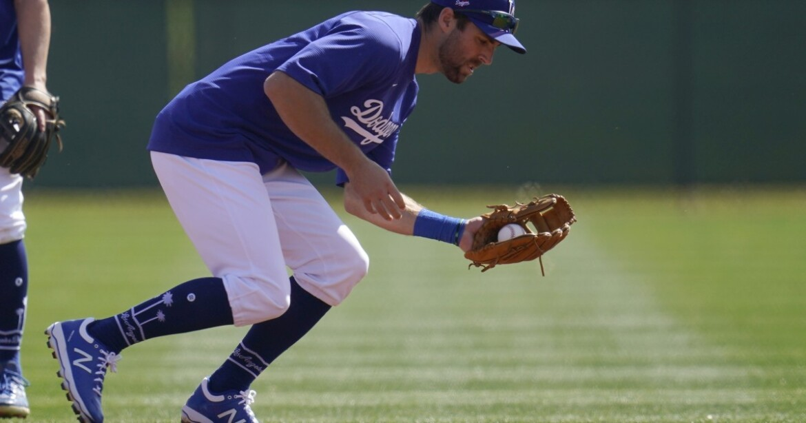 Dodgers' Chris Taylor is a regular guy who doesn't mind his irregular role