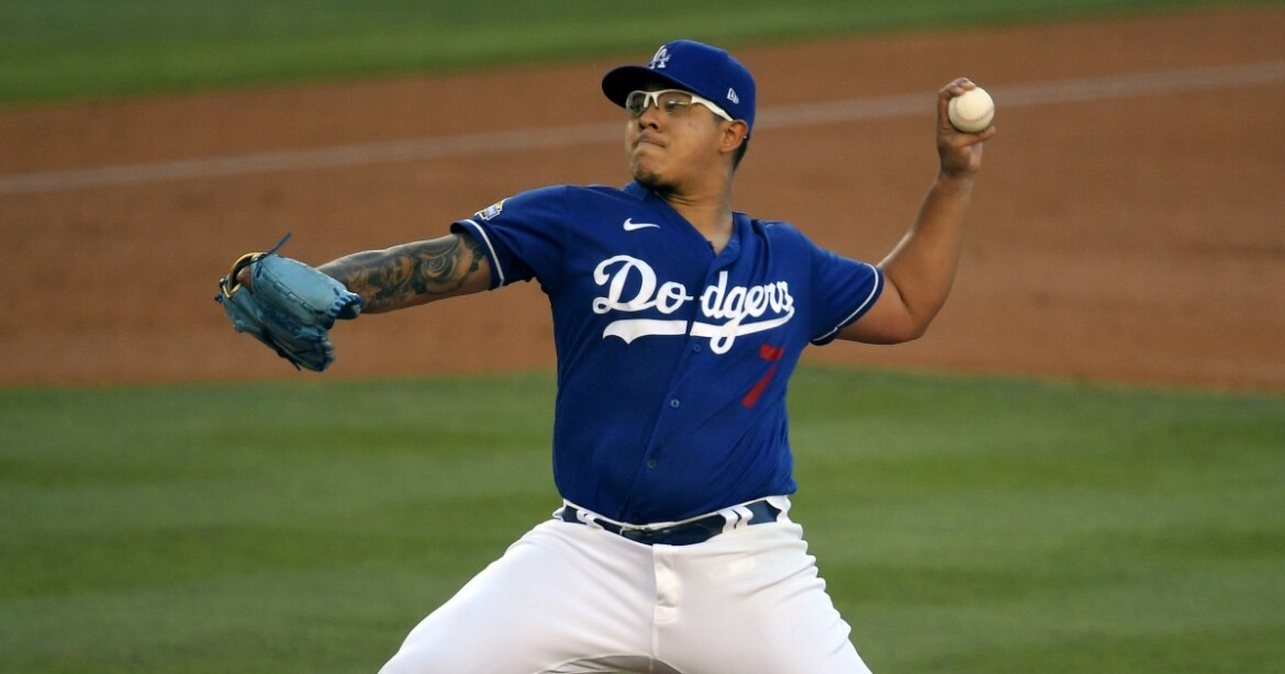 Julio Urías shaky for Dodgers in exhibition tie with Reds